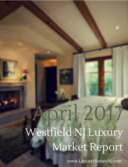 While active and pending listings dipped slightly from the previous month, the April 2017 Westfield NJ Luxury Market Report revealed an almost 300% increase in total sales.