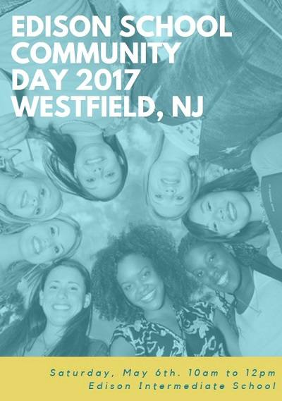 Sign up for Westfield's Edison School Community Day 2017. On May 6th, volunteers have 15 different hands-on community projects they can assist with.