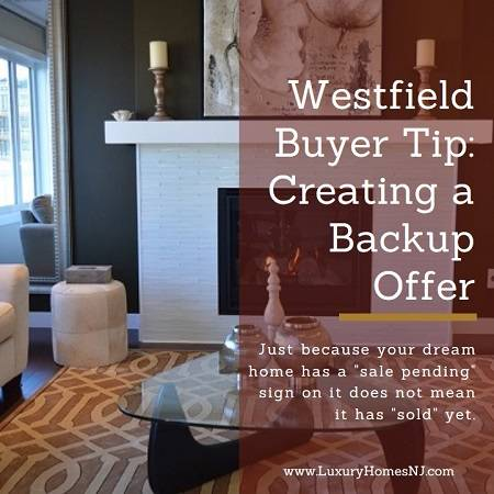 "My Westfield Buyer Tip for today involves creating a backup offer. If your dream home has a ""sale pending"" sign on it, don't give up. It's not sold yet."
