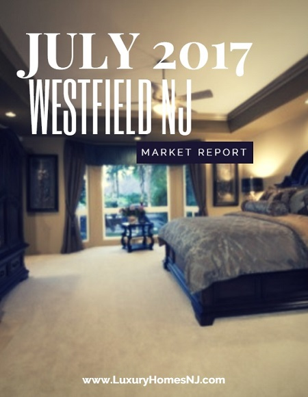 According to the Westfield Area Market Report - July 2017, total sales and listings were down from the previous month, but homes under contract went up.