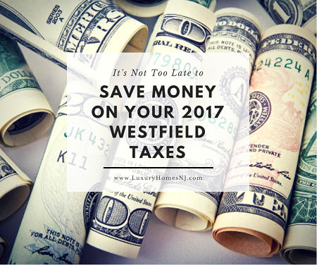 It's not too late to save money on your 2017 Westfield taxes. Check with your financial advisers to make sure that you are doing everything you can to take advantage of deductions still available before the tax code goes into effect.