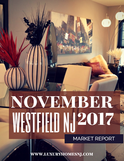 The November 2017 Westfield Area Market Report showed a healthy active luxury market, with 62.5% of active listings being newly constructed homes.