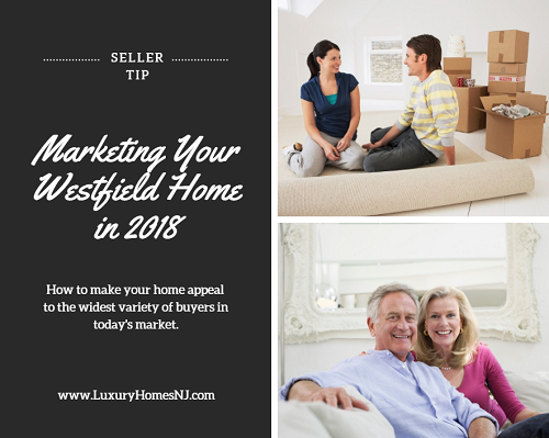 """When marketing your Westfield home in 2018, highlight your home's """"smart"""" and eco-friendly features. Buyers of all ages want this but especially Millennials, the largest group of buyers on the market. Also, make sure it's accessible for aging Baby Boomers (the 2nd largest group)."""