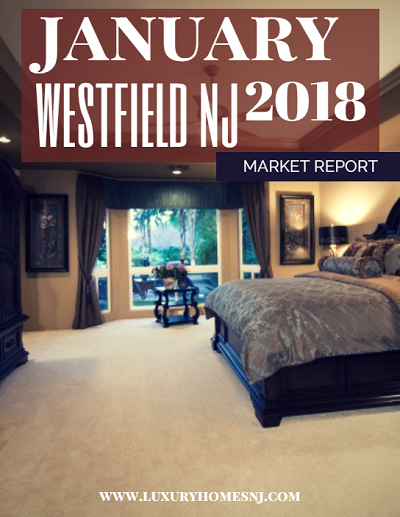 The Westfield Area Market Report for January 2018 indicated a great start for the Westfield luxury real estate market in the new year. Several newly constructed properties hit the market. A few more are currently under contract or were sold.