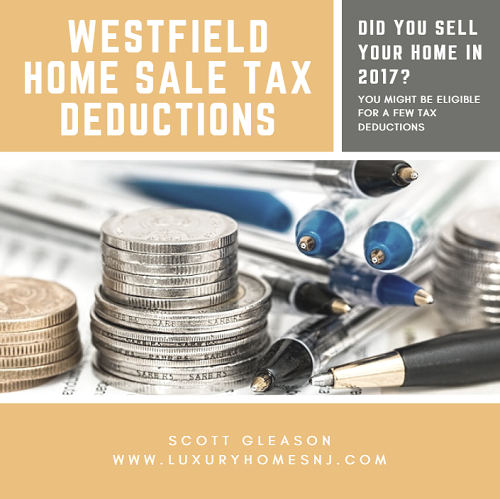 Did you sell your home in 2017? You might be eligible for several different Westfield home sale tax deductions. These include anything paid towards property taxes, mortgage interest, home repairs made to better market your home, and costs related to the actual sale of your home.