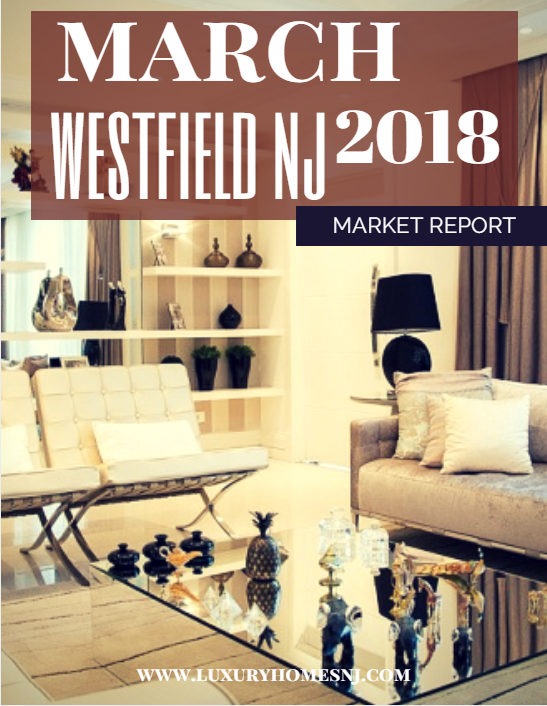 The Westfield Area Market Report for March 2018 showed a lot of activity in the luxury real estate market. Buyers have several options to choose from. But, if you're interested in buying a newly constructed home, you'd better not wait too long. Buyers are snatching these up quickly.