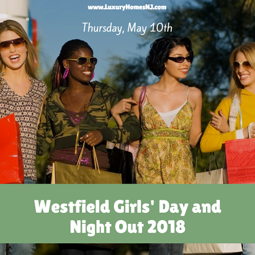 Westfield Girls' Day and Night Out 2018 takes place on May 10th, just three days before Mother's Day. Spend the day shopping, eating, and socializing with your best gal pals. Pick up something special for your mom while you're at it. Register today to receive a free gift bag.