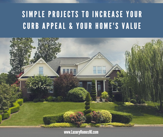 A few simple projects at your Westfield home can increase curb appeal as well as your home value. And each can be completed over the course of a weekend.
