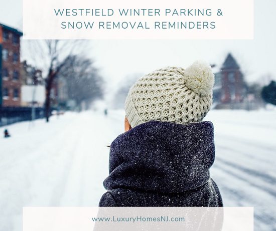 With a winter storm watch in effect this weekend, the mayor gave us some Westfield winter parking and snow removal reminders to help us get through it.