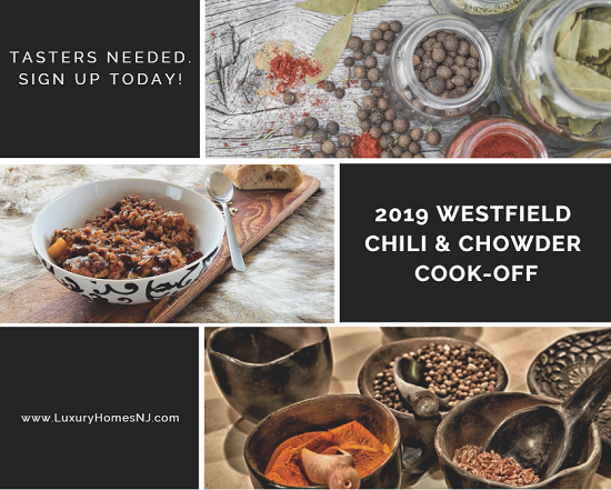 Calling all foodies! The City is hosting its very first Westfield Chili and Chowder Cook-Off pitting the cooking skills of first responders against local restaurants. And they need 150 tasters to help them judge a winner on February 24, 2019. Sign up today!