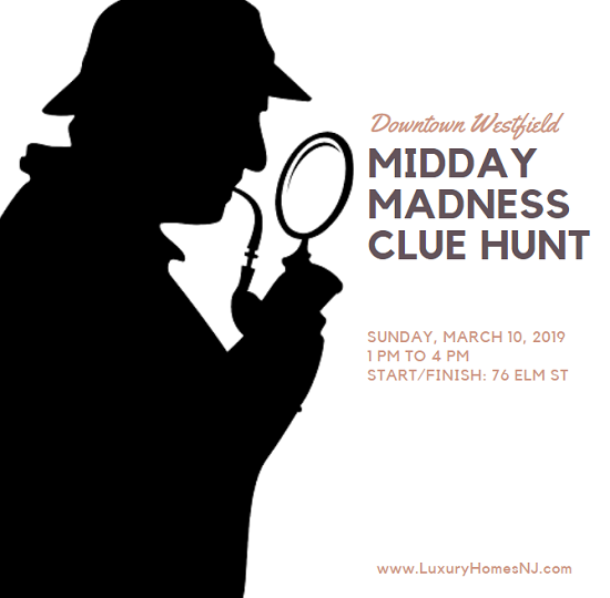 At the Westfield Midday Madness Clue Hunt 2019, teams of up to 10 people solve clues that take them to various locations around downtown for fun and prizes.