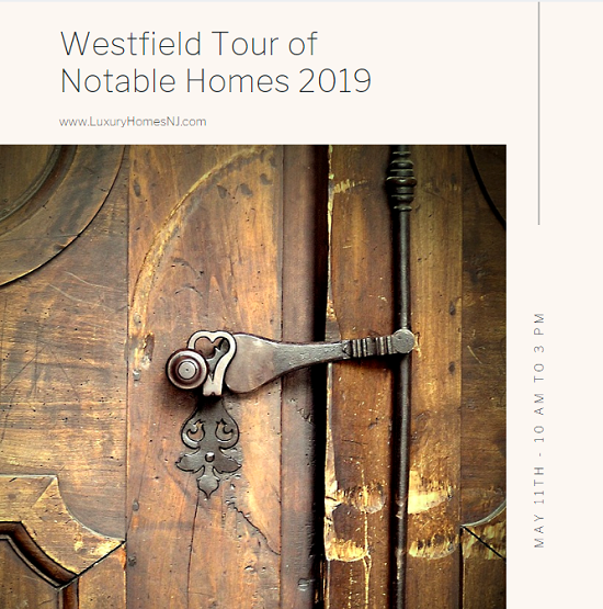 Help raise money for the New Jersey Festival Orchestra and get a glimpse inside some of the city's most distinguished homes during the Westfield Tour of Notable Homes 2019 on May 11th.
