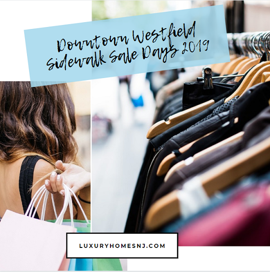 Four days of good times and great deals start today during Downtown Westfield Sidewalk Sale Days 2019 at dozens of downtown shops and boutiques.