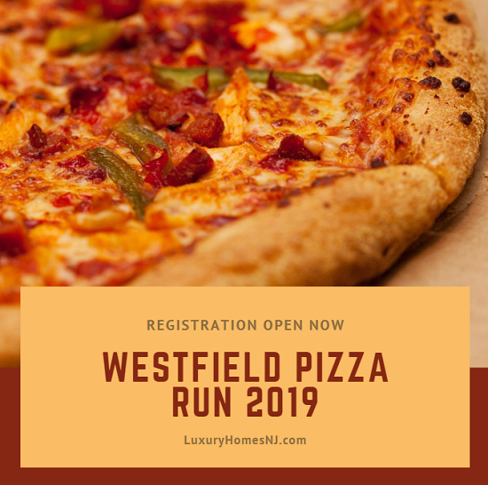 You have until July 22nd to register for the always popular Westfield Pizza Run 2019. Complete a 5K, win fun prizes, and eat pizza for your efforts.