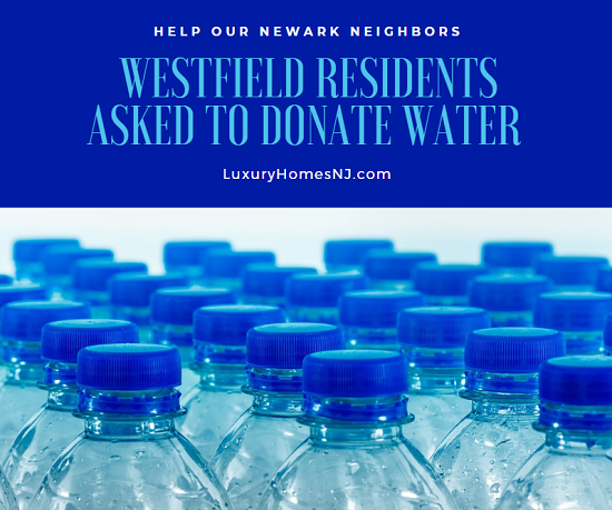Assemblyman Jamel Holley put out a call to action for others living in Union County, including Westfield residents, to donate water to Newark while they battle lead contamination in their water source.