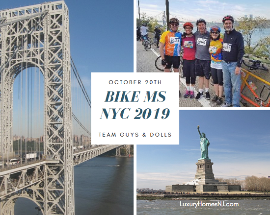 Team Guys & Dolls is at it again. For Bike MS NYC 2019, we set our fundraising goal at $15,000. But we need your help to get there. Please donate today.