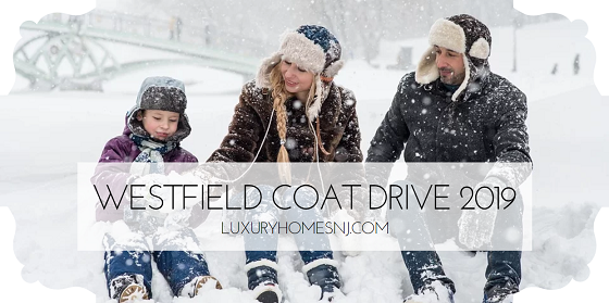 Help keep our less fortunate men, women, and children in our community warm this winter by donating to the Westfield Coat Drive 2019 thru Dec 8th.