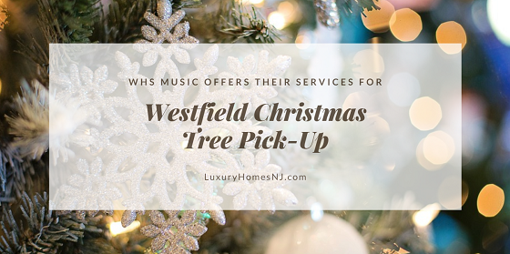 Don't know what to do with your tree once the holidays end? Sign up for a Westfield Christmas Tree Pick-Up from Westfield High's Band and Choir on Jan 5th.