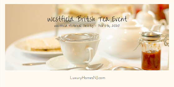 Reserve your seat at the Historical Society's Westfield British Tea Event on Wednesday, February 5th at the Reeve Center. Traditional English fare (scones, sweet pastries, finger sandwiches) included with the tea.