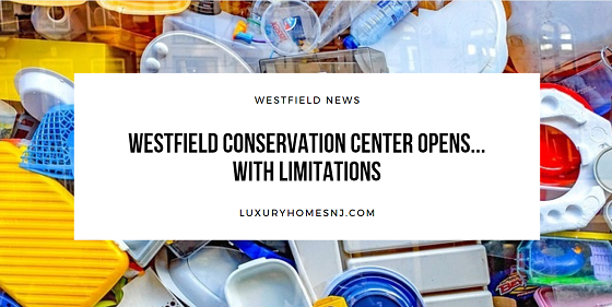 Have you been using your free time to tackle your spring cleaning or completing home improvement projects? You can now bring your trash from these efforts to the Westfield Conservation Center.