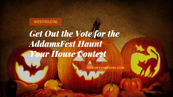 Download your driving guide to visit the 50+ Westfield homes entered in the AddamsFest Haunt Your House Contest. Voting ends Oct 31st, 2020. #hauntyourhouse