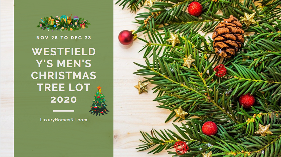 Purchase your Christmas tree, stand, wreath, and/or garland at the Westfield Y's Men's Christmas Tree Lot 2020 starting this Saturday, Nov 28th. They remain open thru Dec 23rd while supplies last.