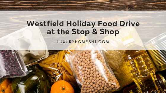 The Stop & Shop's annual Thanskgiving food drive has now changed over to a Westfield Holiday Food Drive going on now through Christmas.