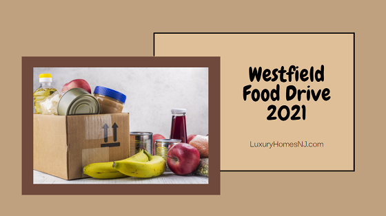 Help fight food insecurity by dropping off food at the Westfield Food Drive 2021 on May 22nd in the parking lot at Roosevelt Middle School or Westfield High School. Contactless drop-off provided.